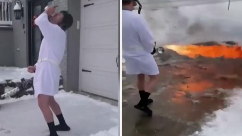 Nëse bllokoheni në shtëpi nga bora, ky është stil i ri për ta pastruar