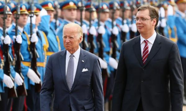 """""""Urdhri i ri ekzekutiv i Bidenit paralajmëron ndryshime karshi Serbisë"""""""